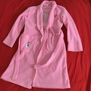 GIRL CONNECTION GIRLS' PINK ROBE M (7/8)